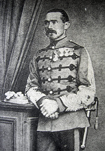 Le Colonel Jean-Baptiste Aubert chef de corps du 2e Régiment de Hussards 1873-1875