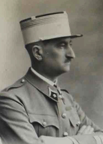 Le Colonel Eugène Bridoux chef de corps du 2e Régiment de Hussards 1934-1936
