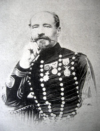 Colonel Paul Carrelet chef de corps du 2e Régiment de Hussards 1868-1873