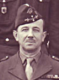 Colonel Gentien, chef de corps du 2e Régiment de Hussards 1951-1953