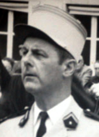 Le Colonel Maisonnet, chef de corps du 2e Régiment de Hussards 1973-1975