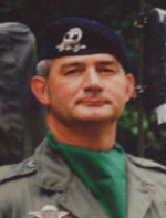 Le Colonel Jean-Michel Martin, chef de corps du 2e Régiment de Hussards 1993-1995