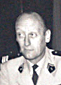Le Colonel Pierre Mazin, chef de corps du 2e Régiment de Hussards 1969-1971