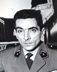 Colonel Guy Méry, chef de corps du 2e Régiment de Hussards 1962-1964, futur CEMA