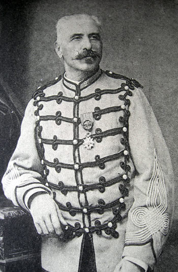 Colonel Joseph-Léon Roustain chef de corps du 2e Régiment de Hussards 1882-1887